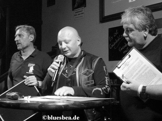Helge Nickel, Bernd Grabowski, Bernd Schulte