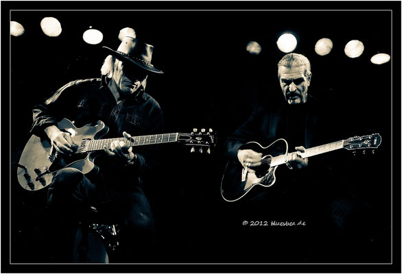 "Richard Bargel & Klaus ""Major"" Heuser - 13. April 2012 - Rider´s Musik Club - Lübeck"