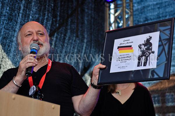 Leo Gehl - Verleihung German Blues Award – Ehrenpreis: Medien