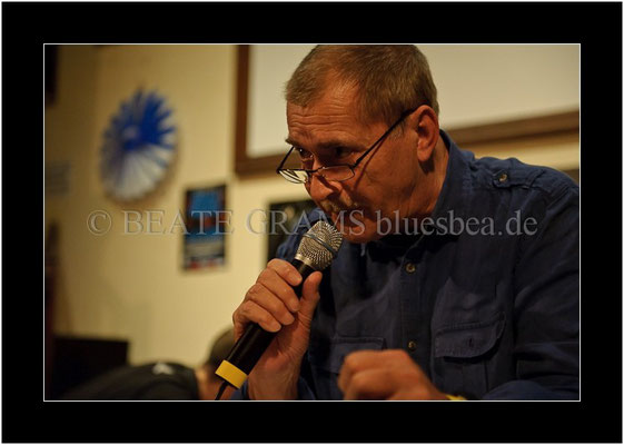 Hannis Anrig, Verleihung German Blues Award: Festival