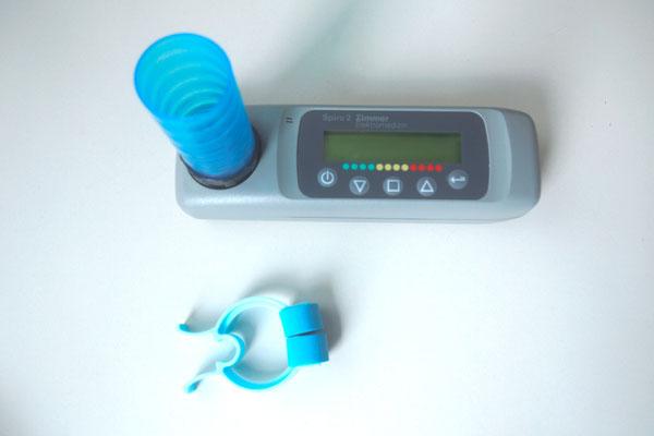 Lungenfunktionsprüfung (Spirometrie)
