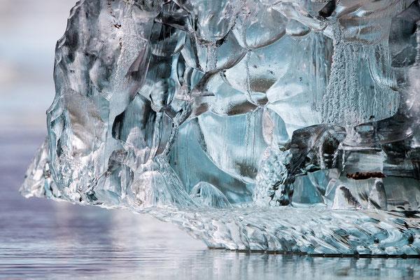 Sie nennen solche Exemplare: Swarovski-Eis
