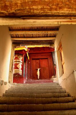 Zutritt zu einem Shey Tempel