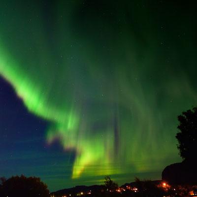 Wer hätte das gedacht: Eine Plasma-Wolke bis Mittelnorwegen; 9.9.2015