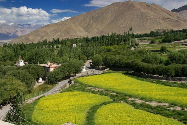 Blick vom Kloster Stok ins Industal