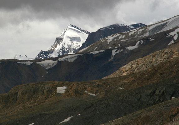 Leh-Manali Transhimalaya: Passhöhe Baralachala 4980m, Grenze zu Himachal Pradesh