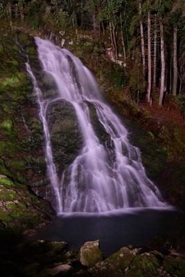 Giessbach-Wasserfall; 12. September 2016 (Nacht)