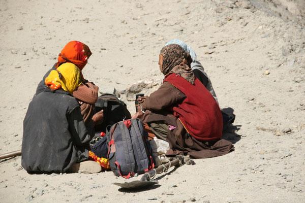 Leh-Manali Transhimalaya: Picknick vor dem Tanglang La