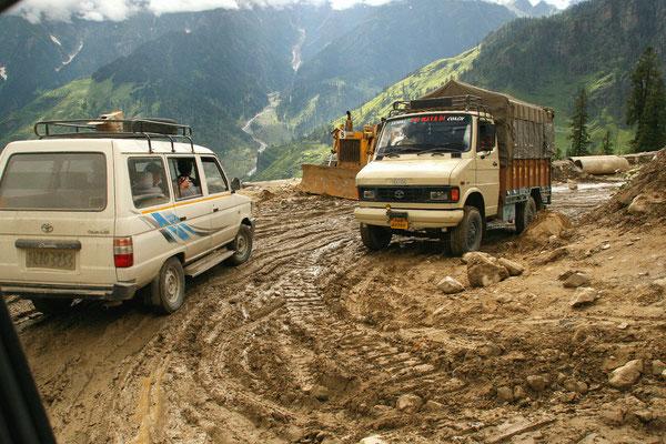 Leh-Manali Transhimalaya: Letzte Kurven vor Manali