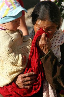 Freudentränen nach der Begegnung mit dem Dalai Lama,Leh Ladak