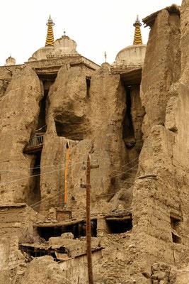Zerfallene Teile des Klosters Lamayuru