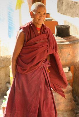 Alter Mönch von Rizong