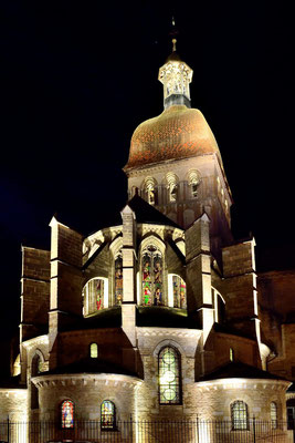 Basilika Nôtre Dame, Beaune, Cluniazenser-Baustil