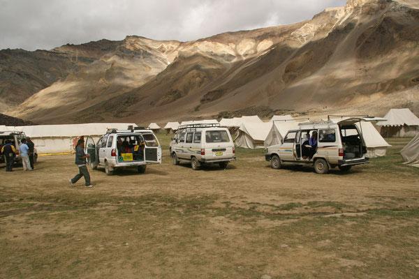 Leh-Manali Transhimalaya: Zeltcamp Sarchu 4200m