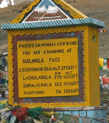 Leh-Manali Transhimalaya: Tanglangla Pass 5300m