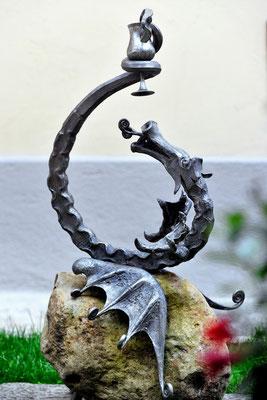 bachisches Symbol der Villa Tiboldi, S. Stefano bei Canale