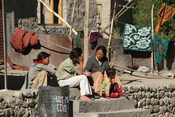 Leh-Manali Transhimalaya: Leben in Rumtse