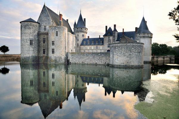 Schloss Sully-sur-Loire; am Ostrand der Sologne