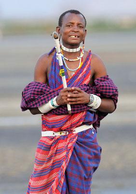 Massai am Lake Natron (Tansania)