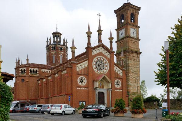 Chiesa di Santa Maria della Pieve; Pino d' Asti; Piemont; 3.10.2015