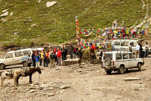 Leh-Manali Transhimalaya: Rohtang La 4000m, letzter Pass vor Manali