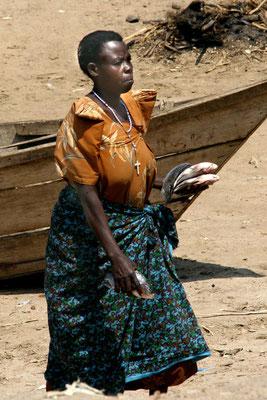 Fischerei am Lake Albert, Uganda
