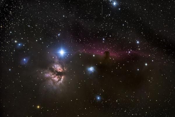 Pferdekopfnebel im Orion; Luzein, 25.2.2019