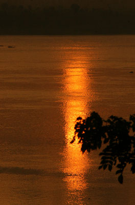 Morgenrot am Nil