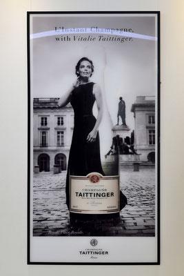 Vitalie Taittinger, Tochter der Besitzerfamilie, zuständig für Marketing (auch das persönliche)