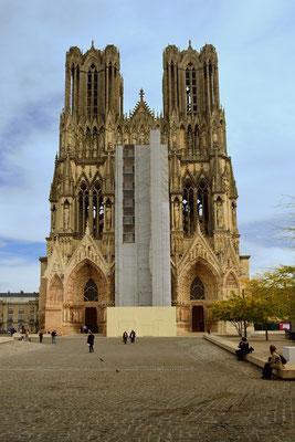 Kathedrale Notre-Dame von Reims; Portalansicht