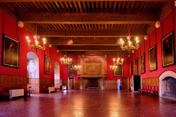 Schloss Sully-sur-Loire; grosser Saal