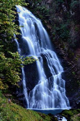 Giessbach-Wasserfall; 12. September 2016 (Tag)