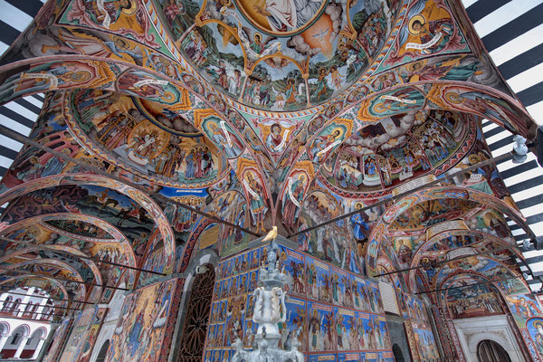 Orthodoxes Kloster Rila; Bulgarien; 19.2.2018