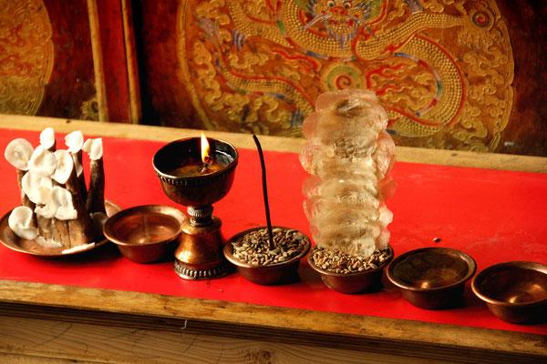 rituelle Utensilien