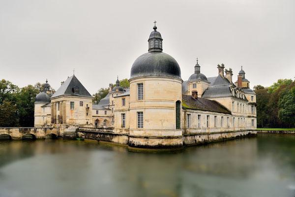 Schloss Tanlay; eines der schönsten Renaissance-Schlösser des Burgund
