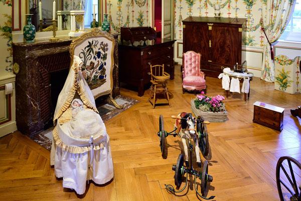 Schloss Cheverny; Loire (F); Kinderzimmer