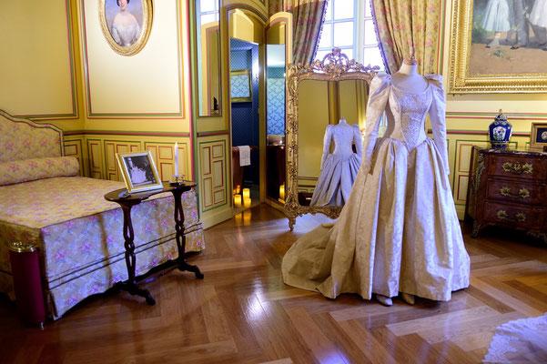 Schloss Cheverny; Loire (F); Ankleidezimmer