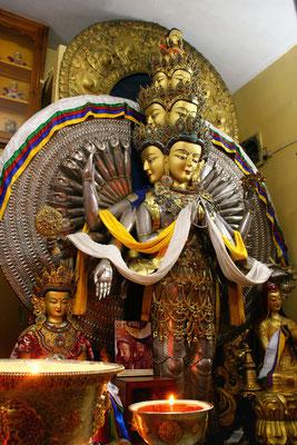 Tempel am Exilsitz des Dalai Lama