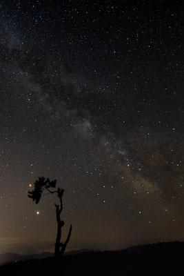 3M (Milchstrasse, (Voll-)Mond (totale Finsternis = Blutmond), Mars