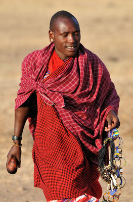 Masai im Ngorongoro-Krater, Tansania