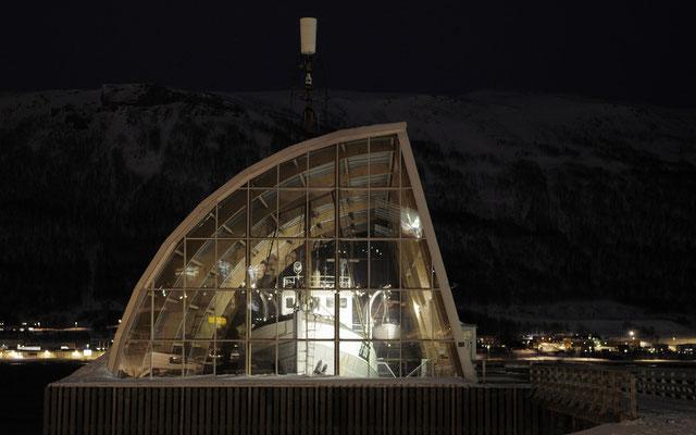 Schiffsmuseum beim Hafen von Tromsö