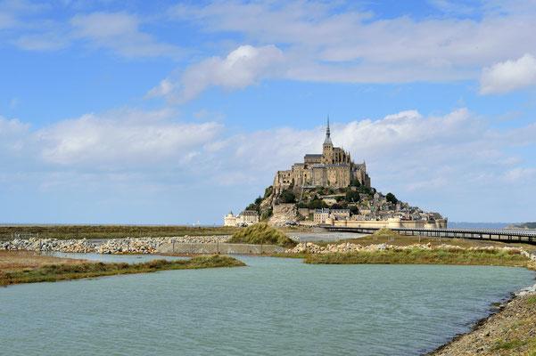 Le Mont-Saint-Michel (F), Département Manche, Basse-Normandie