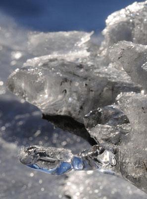 Eis-Strukturen