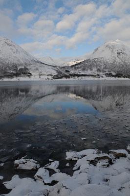 Landschaft nordwestlich Tromsö