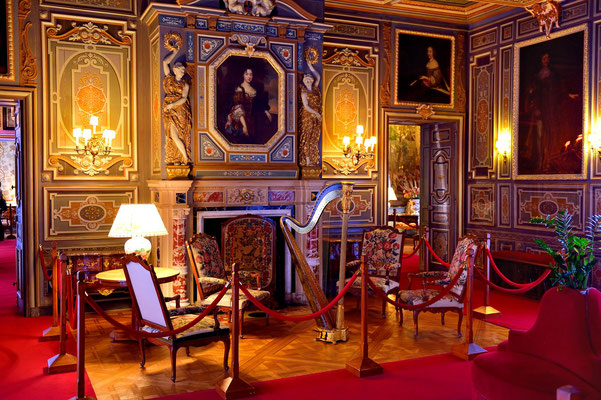 Schloss Cheverny; Loire (F); Musik-Salon