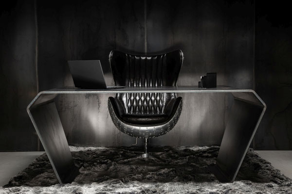 Luxus Designertisch der individuellen Stil ausdrückt-