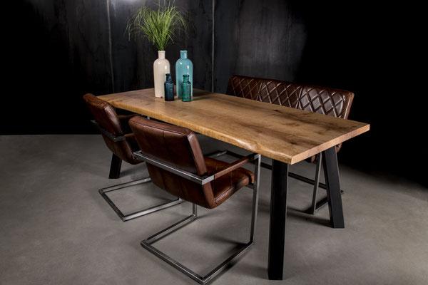 Möbelloft, Moebelloft, Grazil, Tisch auf Maß, Tisch selber konfigurieren, Tisch selber gestalten, Designtisch, Designertisch, Tischgestell auf Maß, Tischgestell auf Wunsch, Tischgestell selber designen, Stahlgestell, Holzgestell, Glasgestell, Zollverein