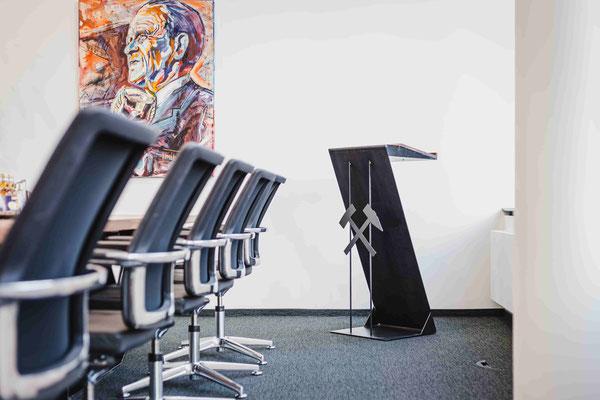 Handwerkskunst und Design für das Büro.
