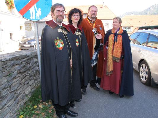 Ein Mehrfach-Ritter ..., die Vielfalt unserer Besucher einfach ein Wahnsinn ...