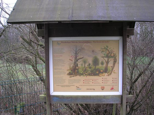 Eingang zur Obstwiese Niederkassel.